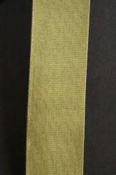 Uniband grün mit Draht 25 mm 25 m