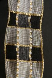Royal schwarz weiss gold 40 mm 20 m