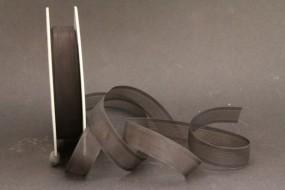 Perlon schwarz 15 mm 20 m