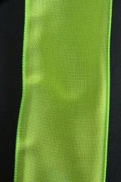 Allegra hellgrün mit Draht 40 mm 20 m