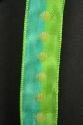 Fany blau grün 25 mm 20 m
