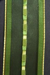 Rügen grün transparent 40 mm 20 m