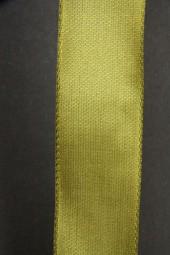 Uniband olivgrün mit Webkante 25 mm 50 m
