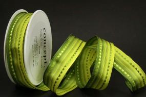Delft grün mit Drahtkante 25 mm 20 m