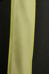 Gala Uniband hellgrün mit Draht 25 mm 25 m
