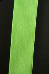 Uniband hellgrün mit Draht 25 mm 20