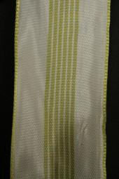 Golf creme Streifen hellgrün 40 mm 20 m