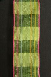 Tipsy hellgrün pink 25 mm 20 m