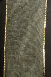 Tenderness grün mit Goldrand 40 mm 25 m