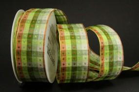 Donata grün braun 40 mm 20 m