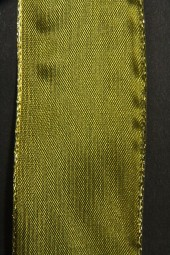 Peer grün mit Goldrand 40 mm 15 m