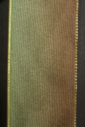Destiny grün braun mit Goldrand 40 mm 25 m