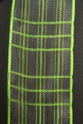 Cosma hellgrün Gitterband 40 mm 20 m