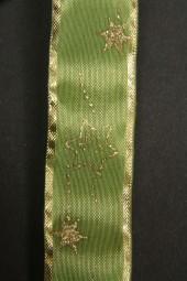 Star grün Stern gold 25 mm 25 m