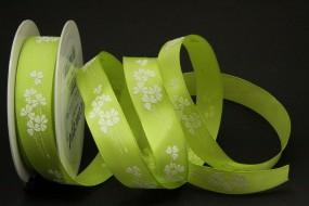 Bouquet Blumrmotiv grün 25 mm 25 m