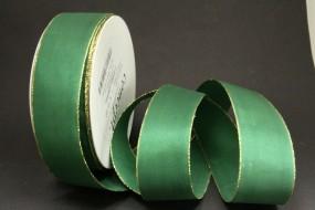 London Classic grün mit Goldrand 40 mm 50 m