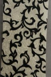 Flamenco Tischband creme schwarz 100 mm 10 m