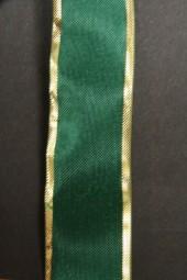 Prestige grün mit Goldrand 25 mm 25 m