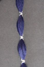 Antigua Quaste blau silber 10 mm 10 m