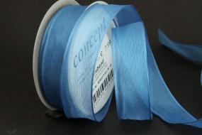 Uniband blau mit Draht 25 mm 15 m