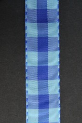 Chester Karo blau 25 mm 25 m