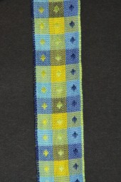 Donata blau gelb 25 mm 20 m