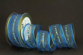 Rügen blau transparent 40 mm 20 m
