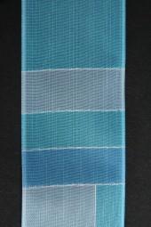 Desiree hellblau mit Drahtkante 40 mm 20 m