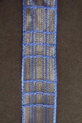 Cosma blau Gitterband 25 mm 20 m