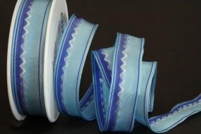 Dover blau mit Drahtkante 25 mm 25 m