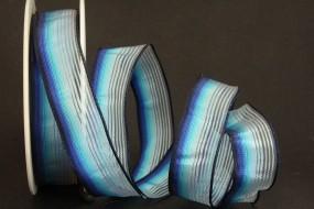 Evita blau hellblau 25 mm 20 m