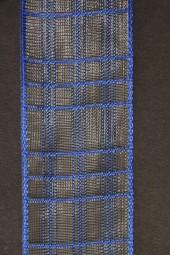 Cosma blau Gitterband 40 mm 20 m