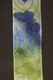 Flunders blau grün 40 mm 20 m