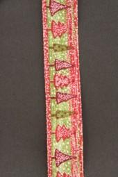 Weihnachtsbaum rot grün 25 mm 20 m