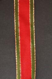 XmasRips rot grün mit Goldrand 25 mm 20 m