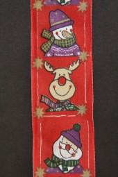 Quick Weihnachtsmann rot 40 mm 20 m