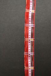 Irina rot weiss 15 mm 15 m