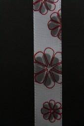 Fleur hellgrau 25 mm 50 m