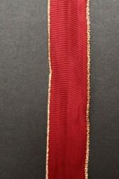 London burgundy plum mit Goldrand 25 mm 25 m