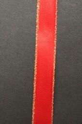 London Satin rot Goldrand 15 mm 25 m