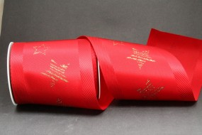 Starlight XL rot gold Tischband 100 mm 10 m