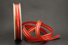 Studio rot gold 15 mm 50 m