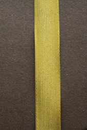 Uniband olivgrün mit Webkante 15 mm 50 m
