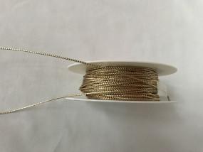 Bindekordel tubolare gold 2 mm 50 m