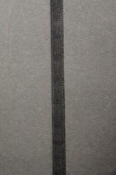 Organza schwarz 7 mm 50 m mit Webkante