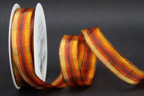 Mistral braun orange 25 mm 20 m