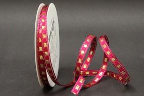 Egypt pink gold mit Drahtkante 8 mm 25 m