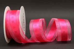 Vichy pink 40 mm 25 m