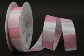 Desiree rosa weiss 25 mm 20 m
