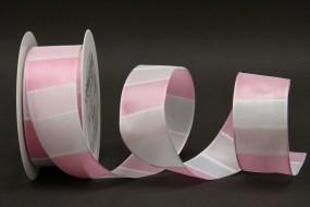 Desiree rosa weiss 40 mm 20 m